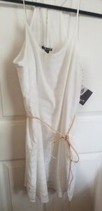 White Volcom summer dress/beach cover